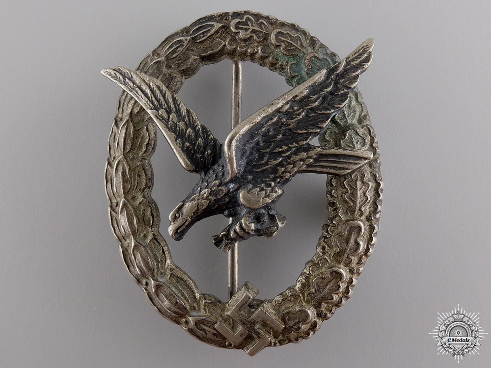 eMedals-A Luftwaffe Air Gunner's & Flight Engineer's Badge
