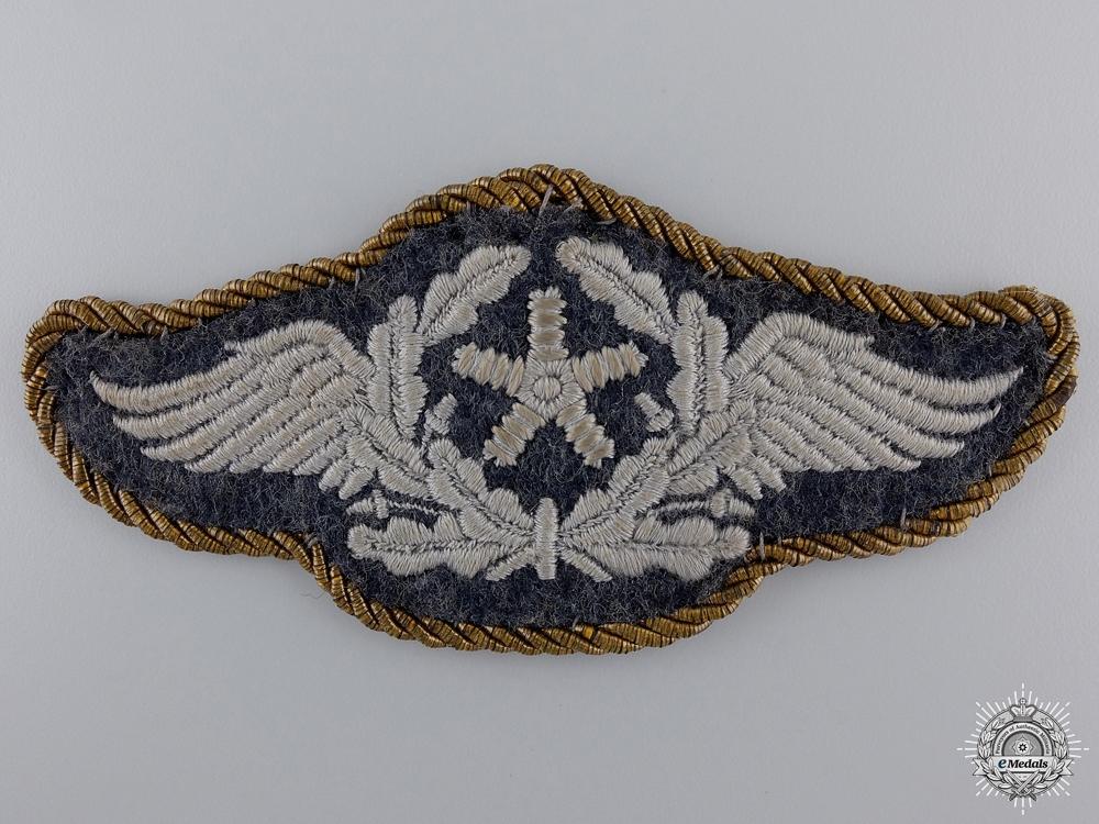 eMedals-A Luftwaffe Aircraft Technical Personnel Insignia