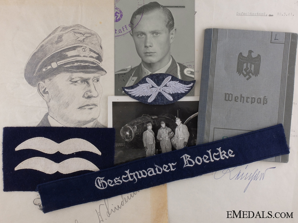 eMedals-A Luftwaffe Bomber Pilot Group; Battle of Britain KIA