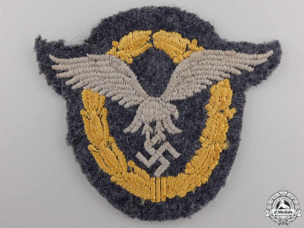 eMedals-A Luftwaffe Combined Pilot-Observer Badge; Cloth Version