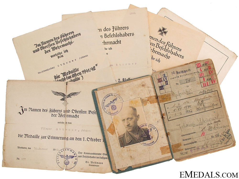 eMedals-A Luftwaffe Document Grouping