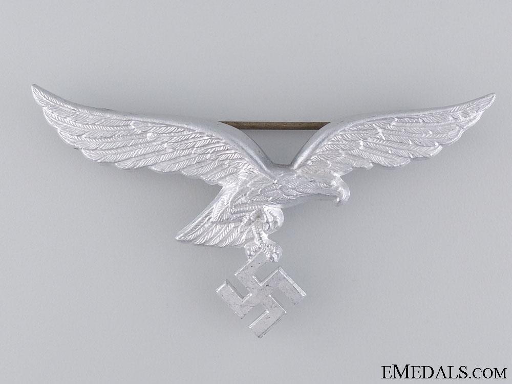 eMedals-A Luftwaffe Eagle Cap Badge by F.W.Assmann