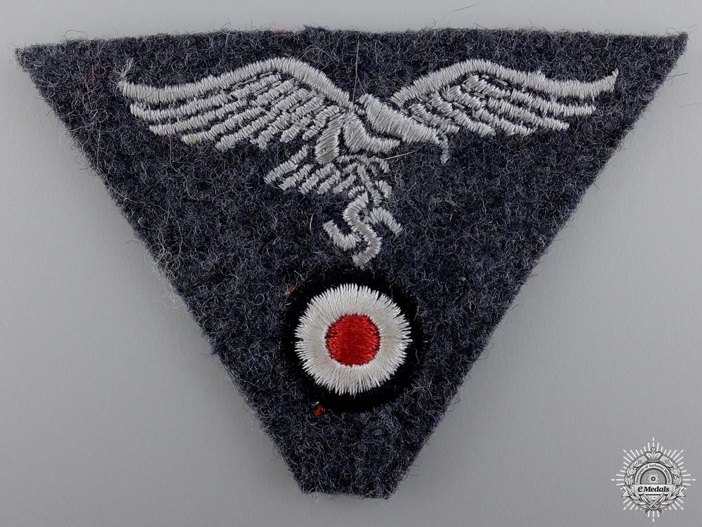eMedals-A Luftwaffe EM/NCO's M43 Trapezoid Cap Insignia
