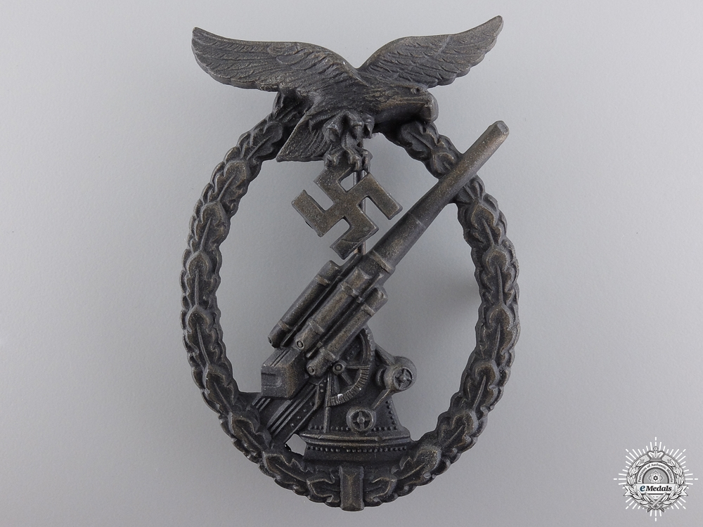 eMedals-A Luftwaffe Flak Badge