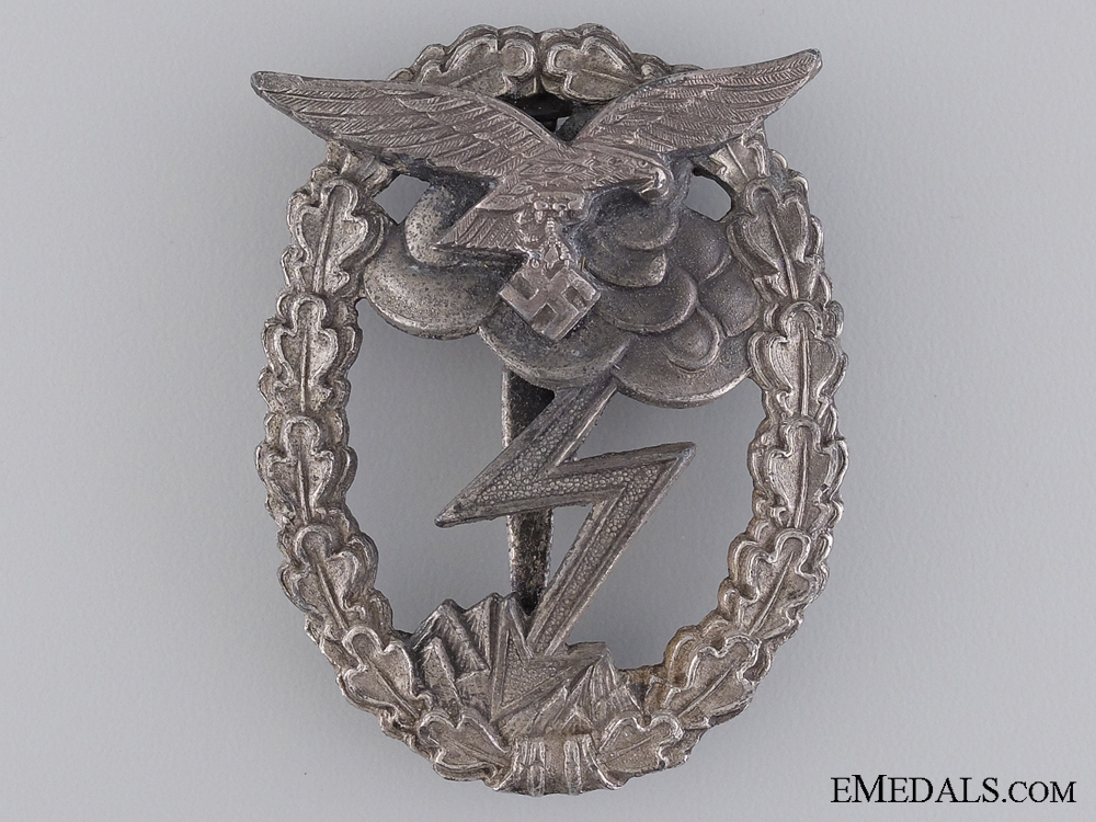 eMedals-A Luftwaffe Ground Assault Badge by R.K.