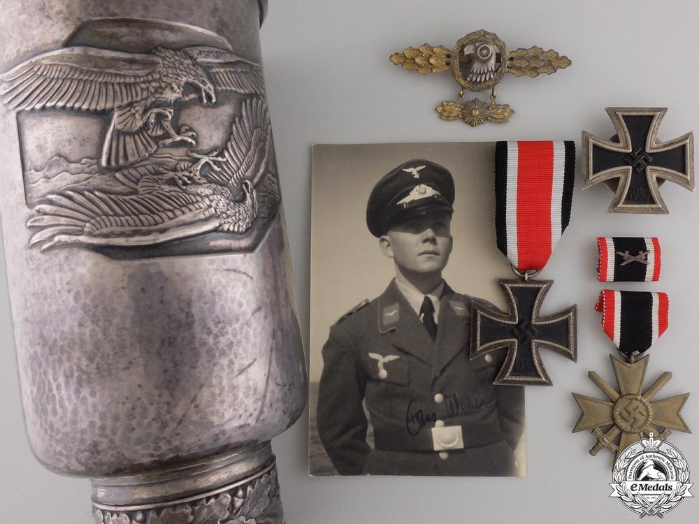 eMedals-A Luftwaffe Honor Goblet Grouping to See-Aufklärungsgruppe 125