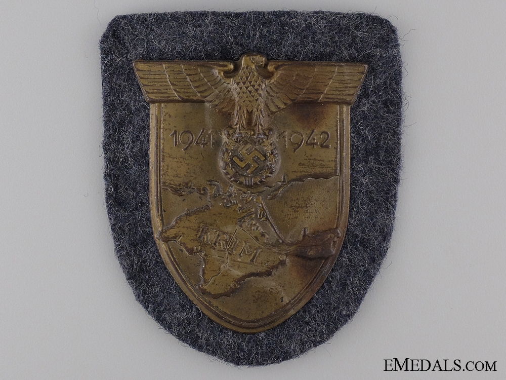 eMedals-A Luftwaffe Issue Krim Shield