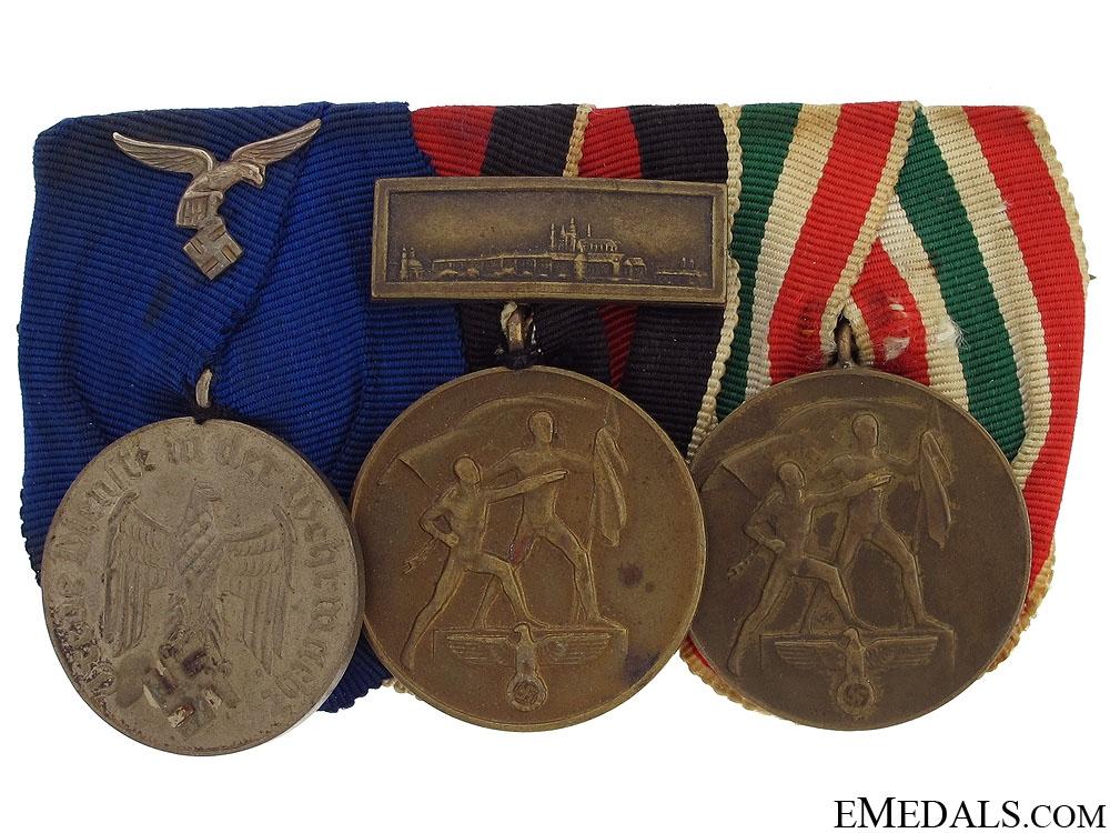 eMedals-A Luftwaffe Long Service Medal Bar