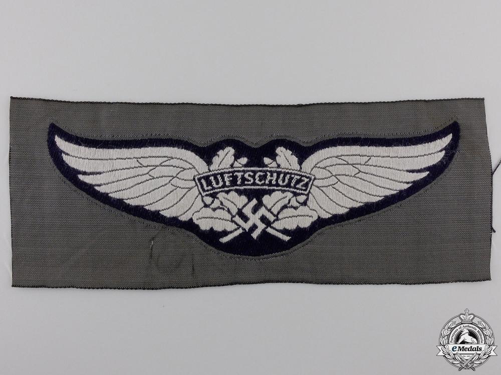 eMedals-A Luftwaffe-Luftschutz Cloth Side Cap Insignia