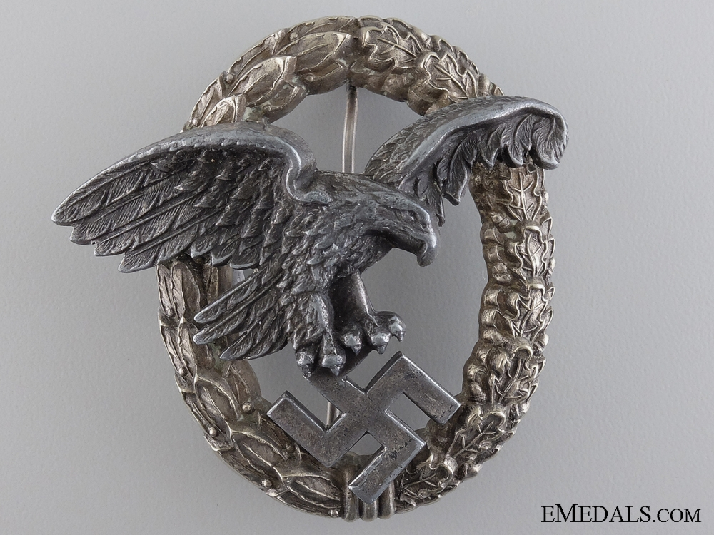 eMedals-A Luftwaffe Observers Badge by P.Meybauer, Berlin
