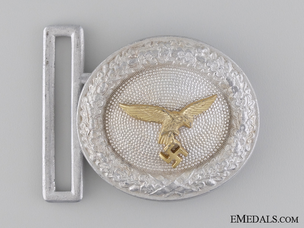 eMedals-A Luftwaffe Officer's Belt Buckle