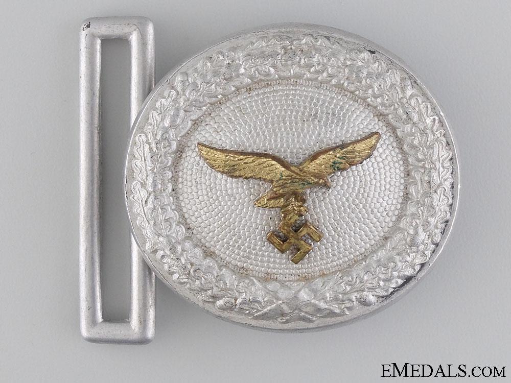 eMedals-A Luftwaffe Officer's Belt Buckle by F.W. Assmann