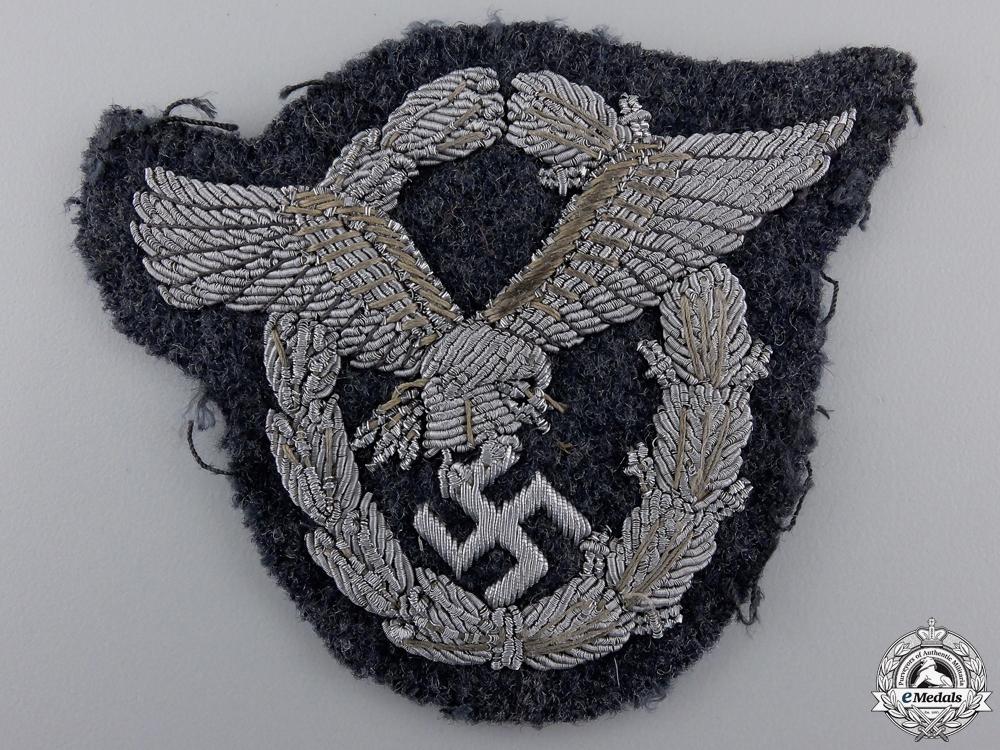 eMedals-A Luftwaffe Officer's Pilot's Badge; Bullion Version