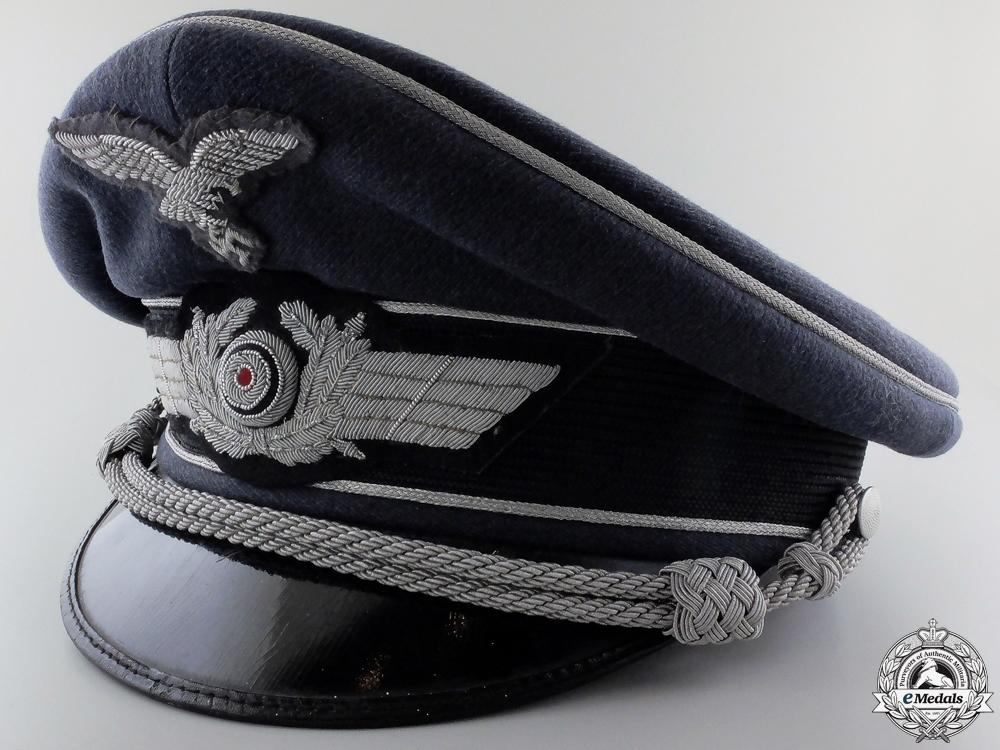 eMedals-A Luftwaffe Officer's Visor