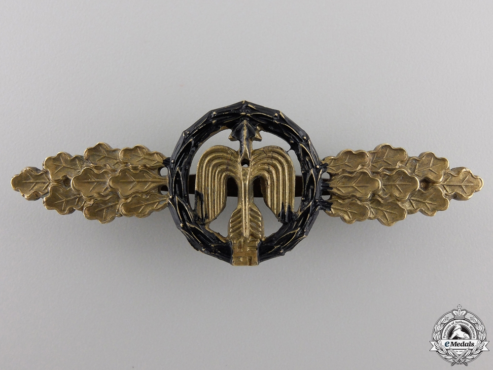 eMedals-A Luftwaffe Short Range Night Fighter Clasp; Gold Grade