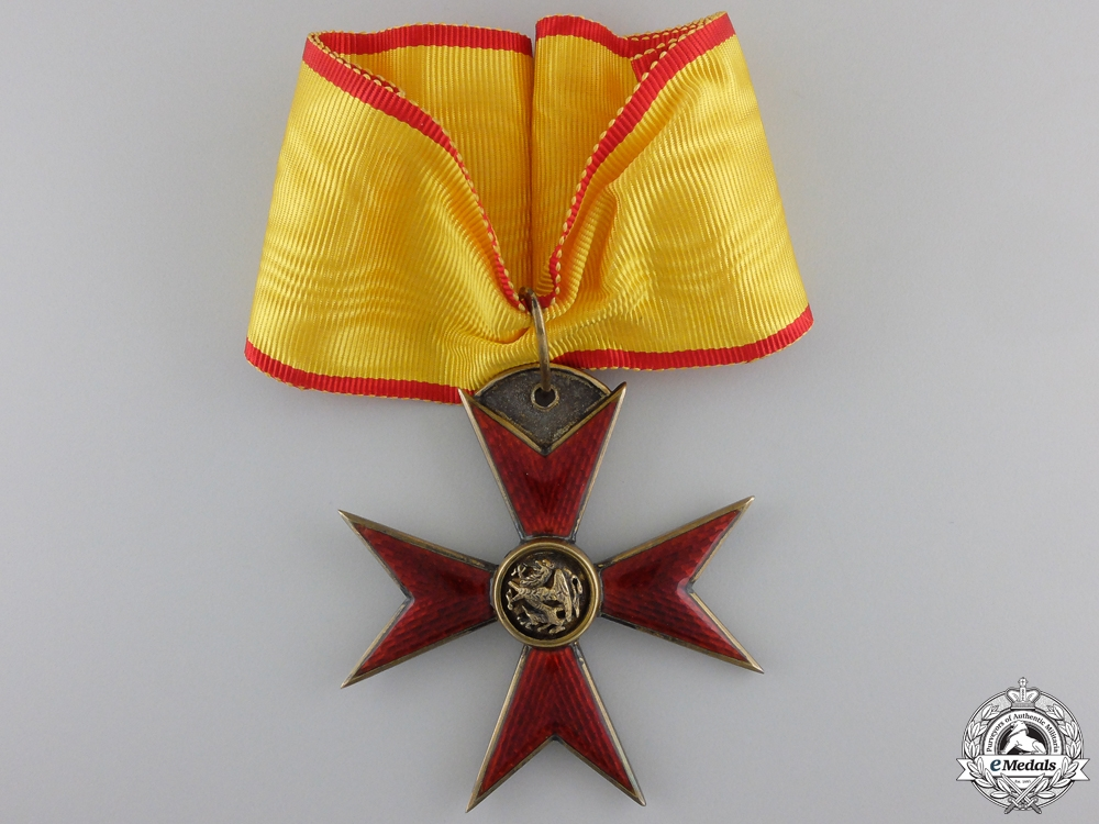eMedals-A Mecklenburg Order of the Griffin; Commander`s Badge