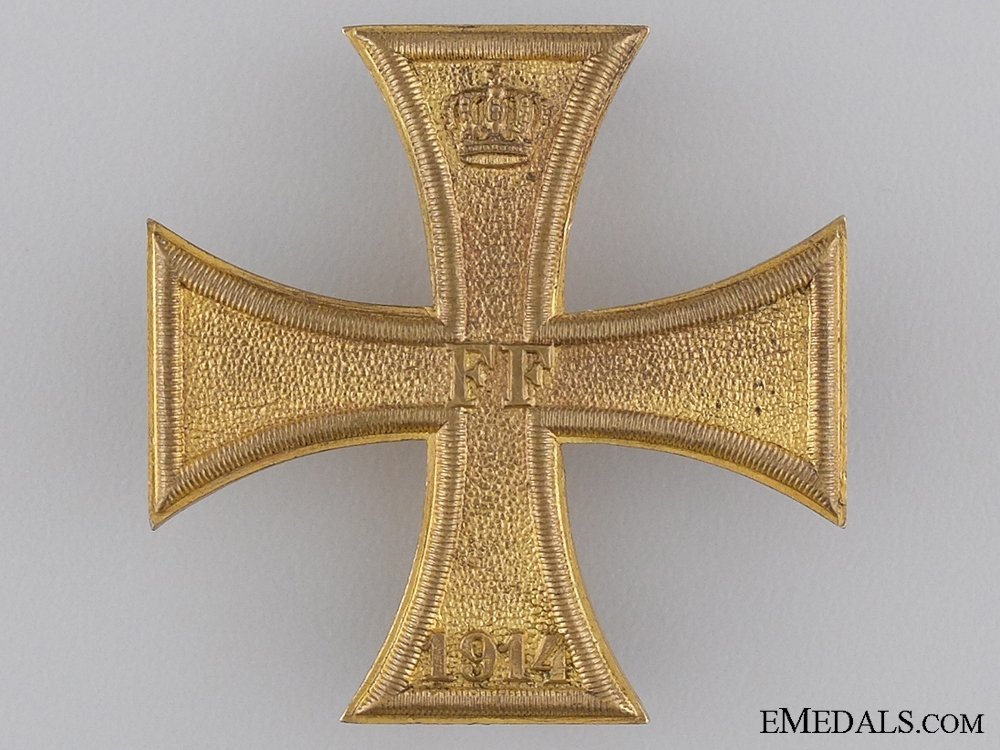 eMedals-A Mecklenburg-Schwerin War Cross 1914 1st Class