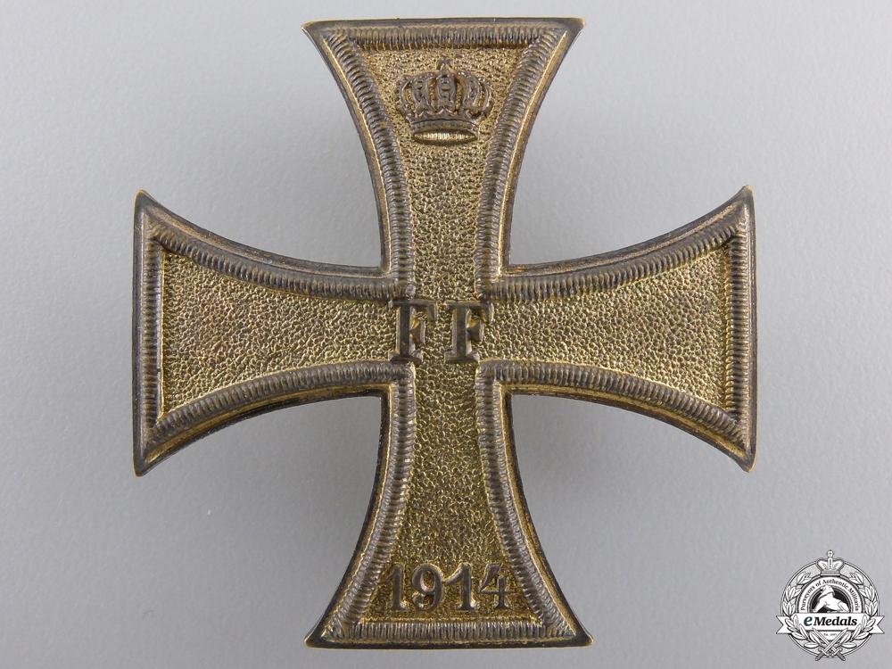 eMedals-A Mecklenburg Schwerin Military Merit Cross 1914; 1st Class