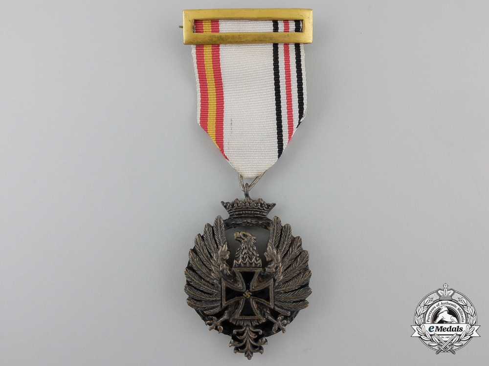eMedals-A Medal of the Spanish Blue Division, Officer's Version