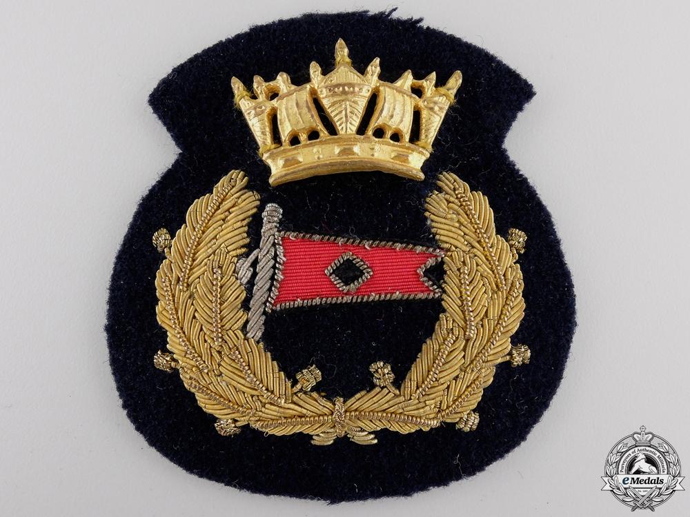 eMedals-A Merchant Marine Officer's Cap Badge