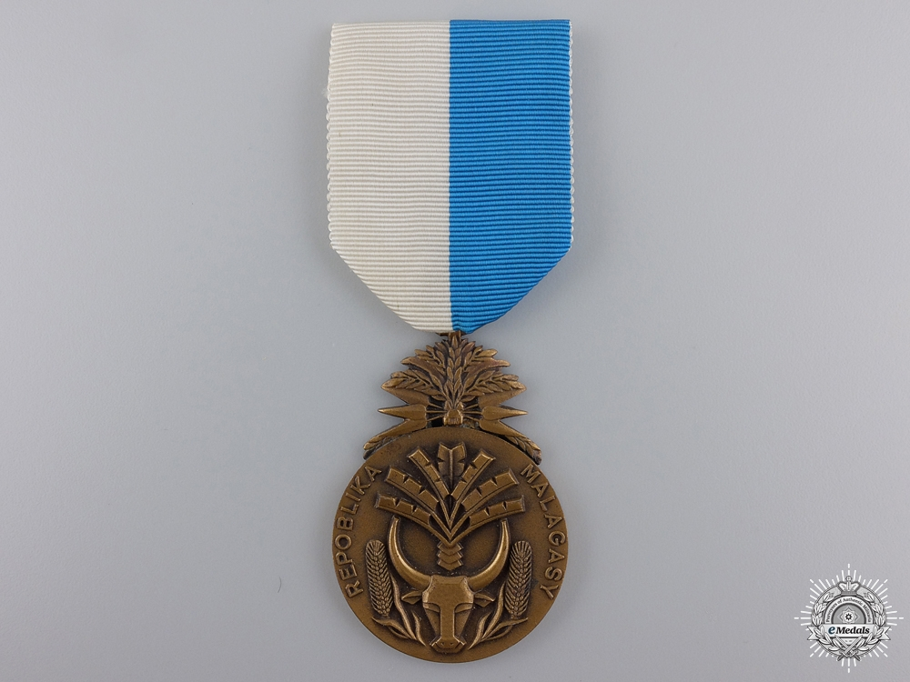 eMedals-A Merit Order of Madagascar; Knight's Badge
