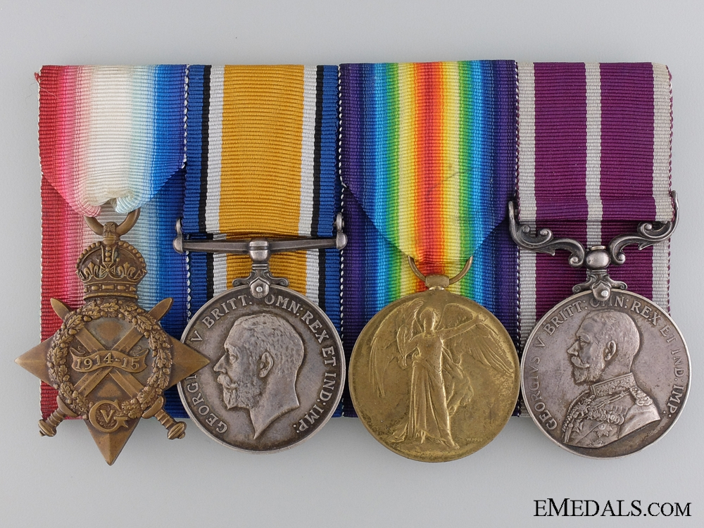 eMedals-A Meritorious Service Medal Group to Section Major Parrish