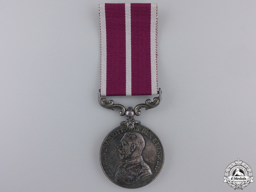 eMedals-A Meritorious Service Medal to Temporary Mechanist Serjeant Major  E, 3 JUNE, 191