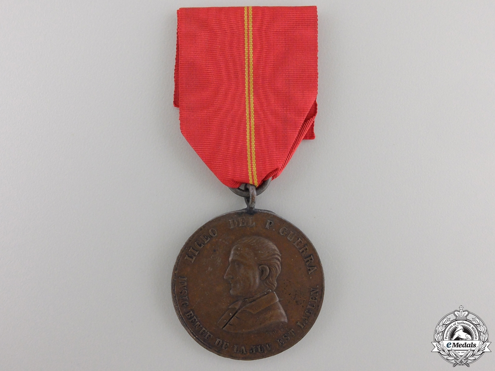 eMedals-A Mexican Lagos de Moreno School Medal