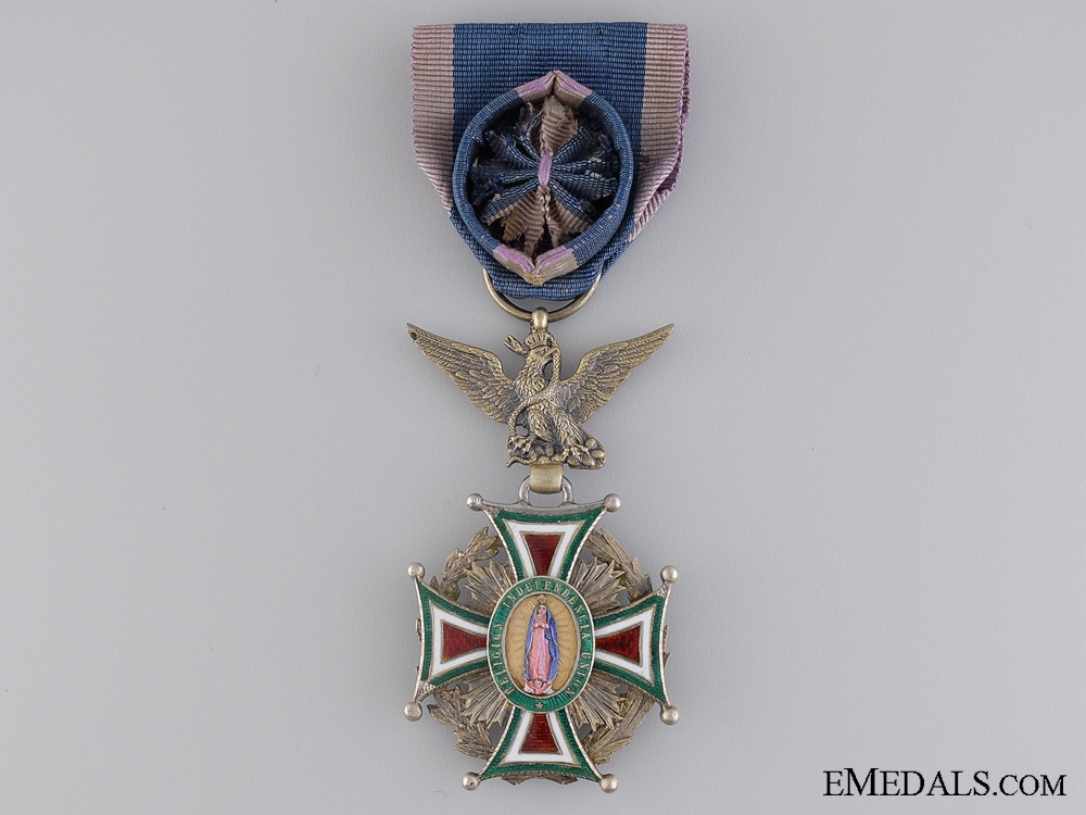 eMedals-A Mexican Order of Our Lady of Guadaloupe; Officer's Badge