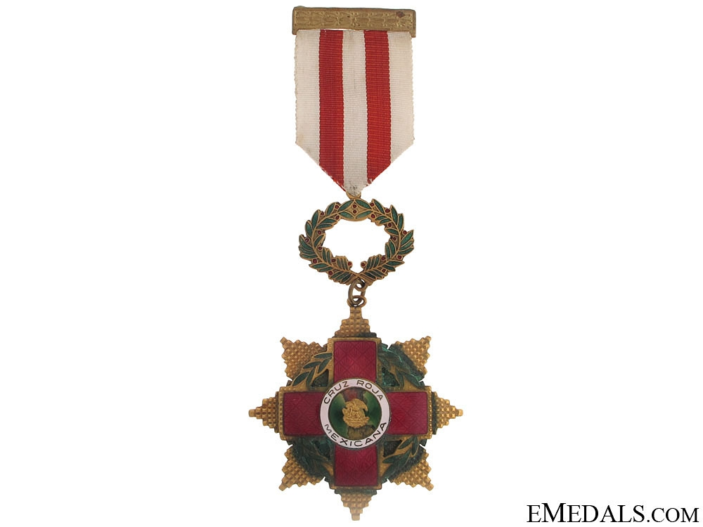 eMedals-A Mexican Red Cross Decoration