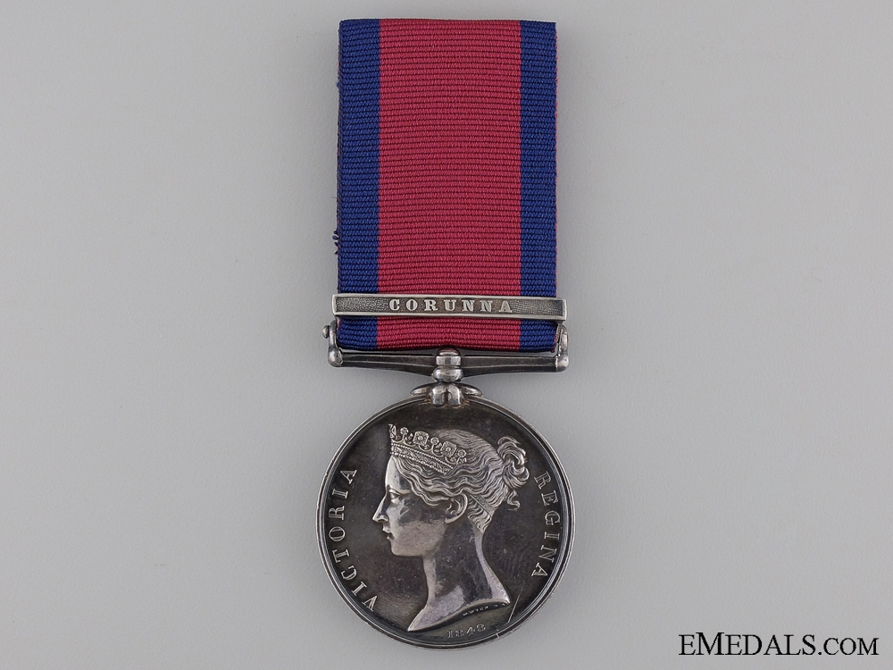 eMedals-A Military General Service to the Royal Artillery for Corunna
