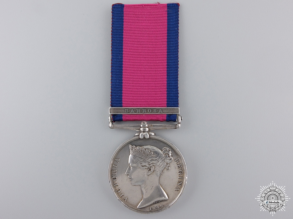 eMedals-A Military General Service Medal, to the Royal Artillery; Barrosa  Consignment 21