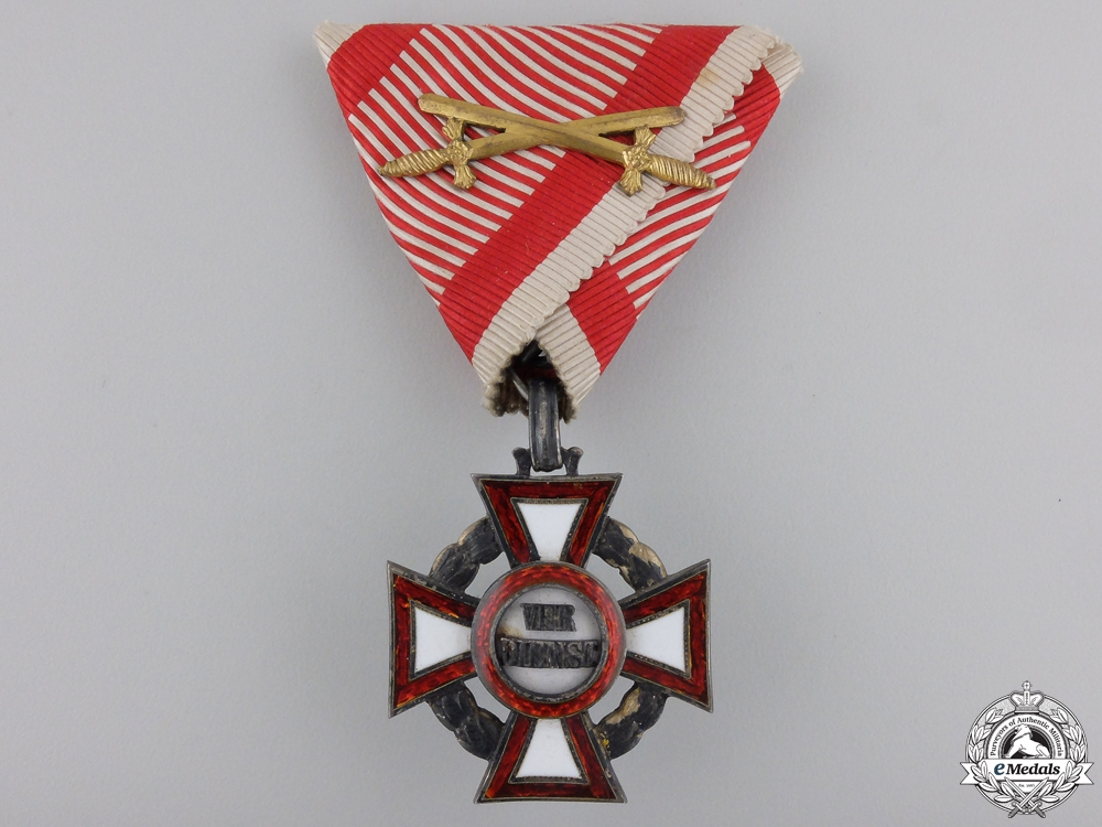 eMedals-A Military Merit Cross with War Decoration by V.Mayer