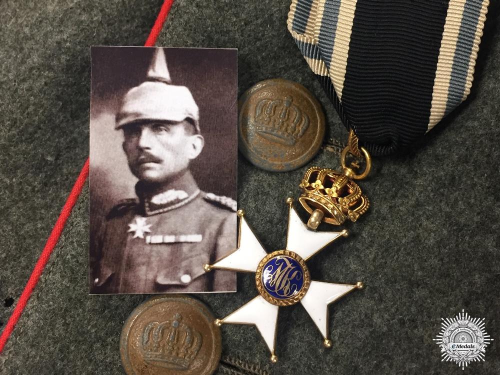 eMedals-An Early 1914 Militär-Max-Joseph-Orden to Otto von Stetten