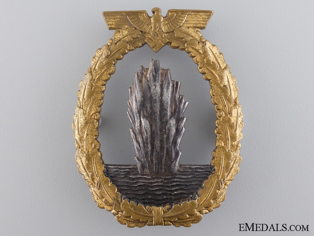 eMedals-A Minesweeper War Badge by Schwerin, Berlin