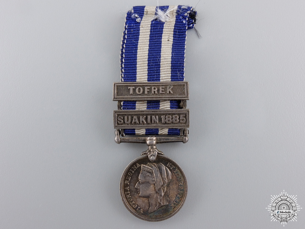 eMedals-A Miniature 1882 Egypt Medal for Tofrek