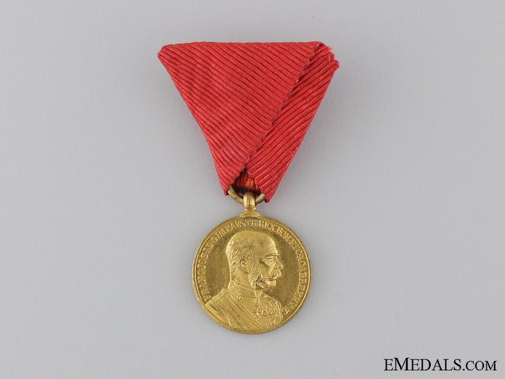 "eMedals-A Miniature 1898 ""Signvm Memoriae"" Gold Grade; Military Version"