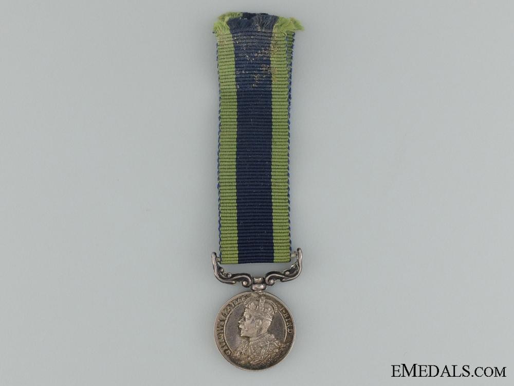 eMedals-A Miniature 1909 India Medal
