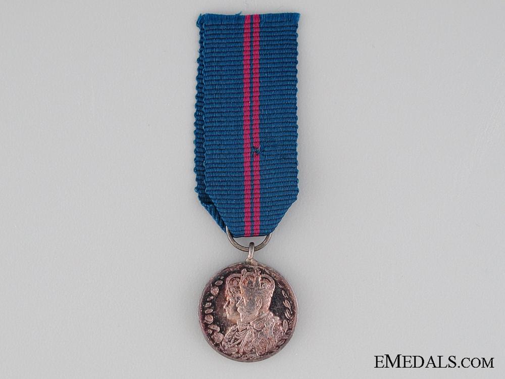eMedals-A Miniature 1911 Coronation Medal