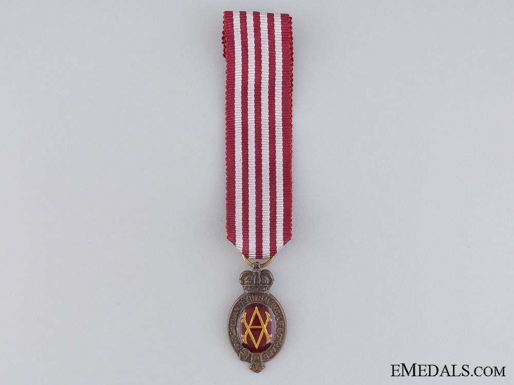 eMedals-A Miniature Albert Medal; 1st Class Land Service