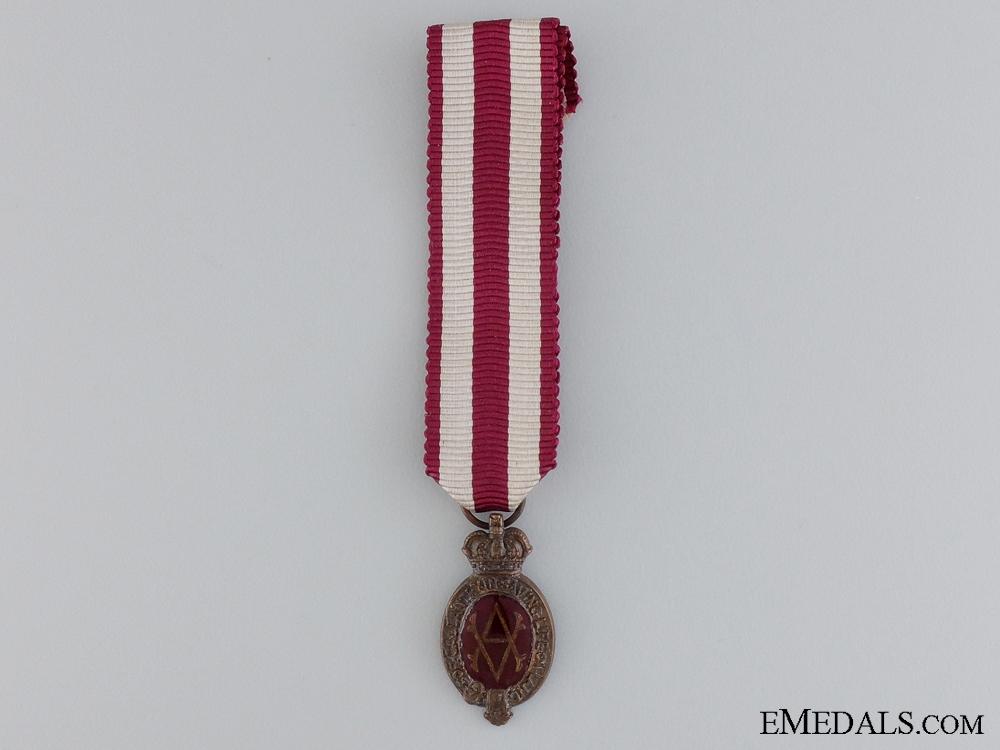 eMedals-A Miniature Albert Medal; 2nd Class Land Service Medal