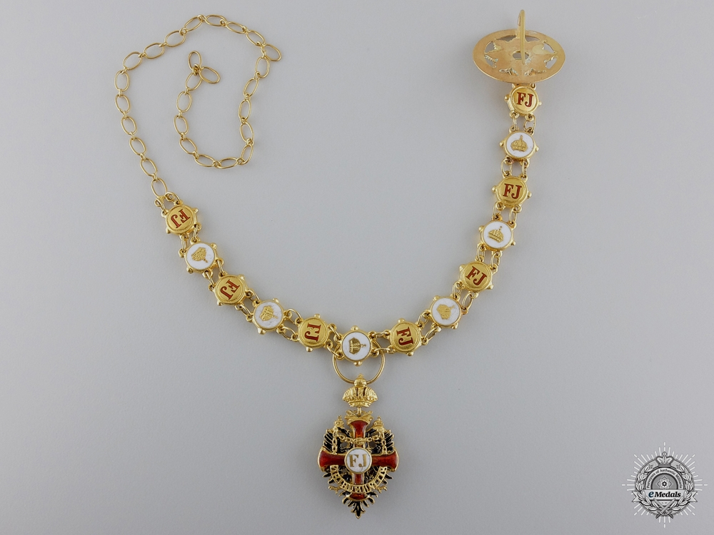 eMedals-A Miniature Austrian order of Franz Joseph in Gold by R. Souval