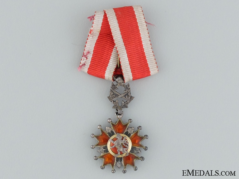 eMedals-A Miniature Czech Order of the White Lion
