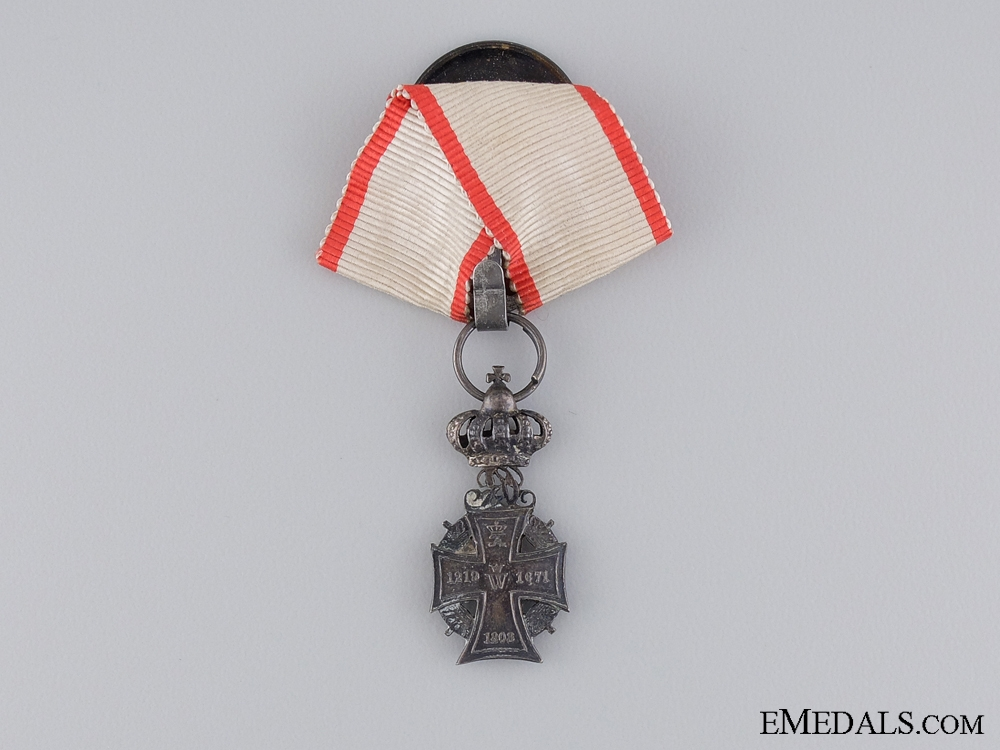 eMedals-A Miniature Danish Order of the Dannebrog