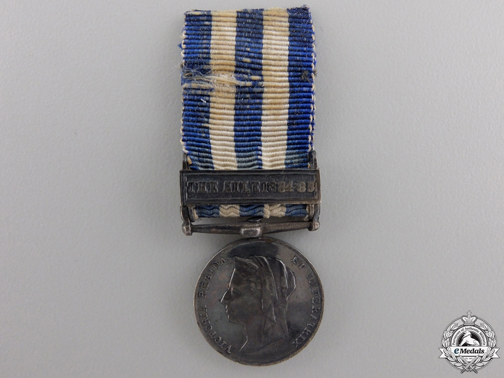 eMedals-A Miniature Egypt Medal; Nile 1884-85