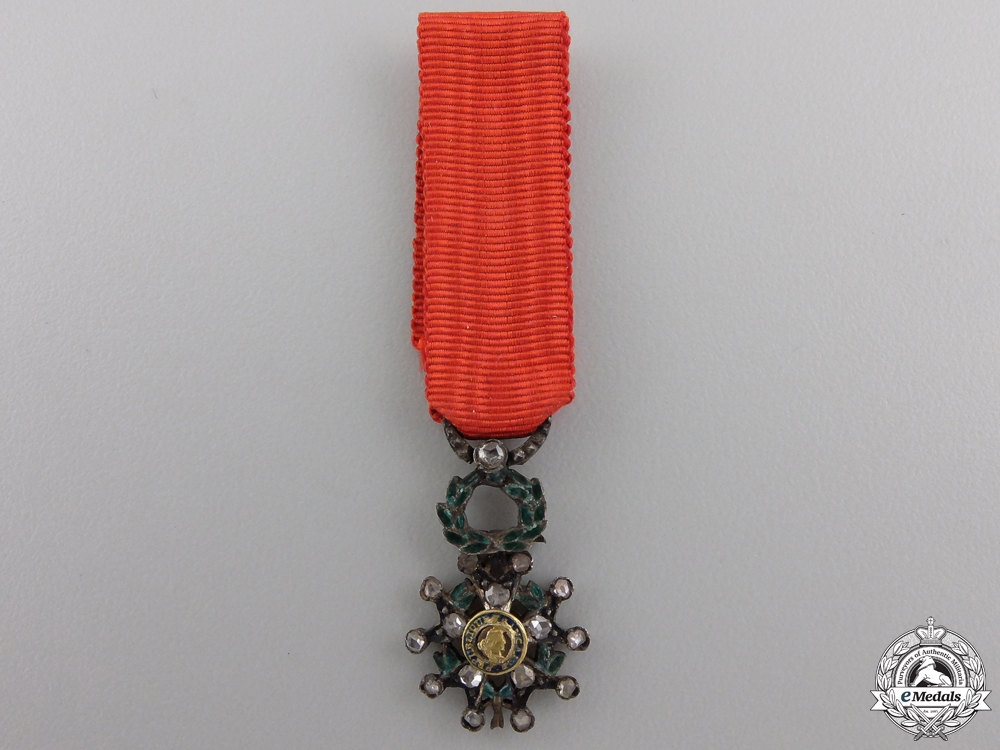 eMedals-A Miniature French Legion D'Honneur in Diamonds