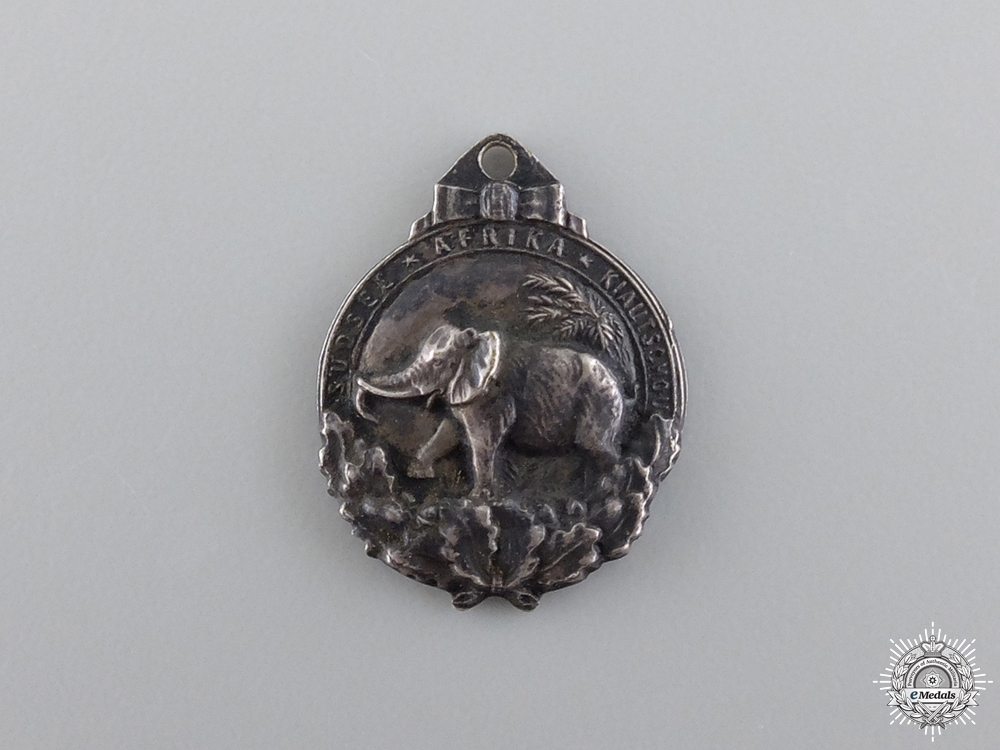 eMedals-A Miniature German Colonial Honor Badge