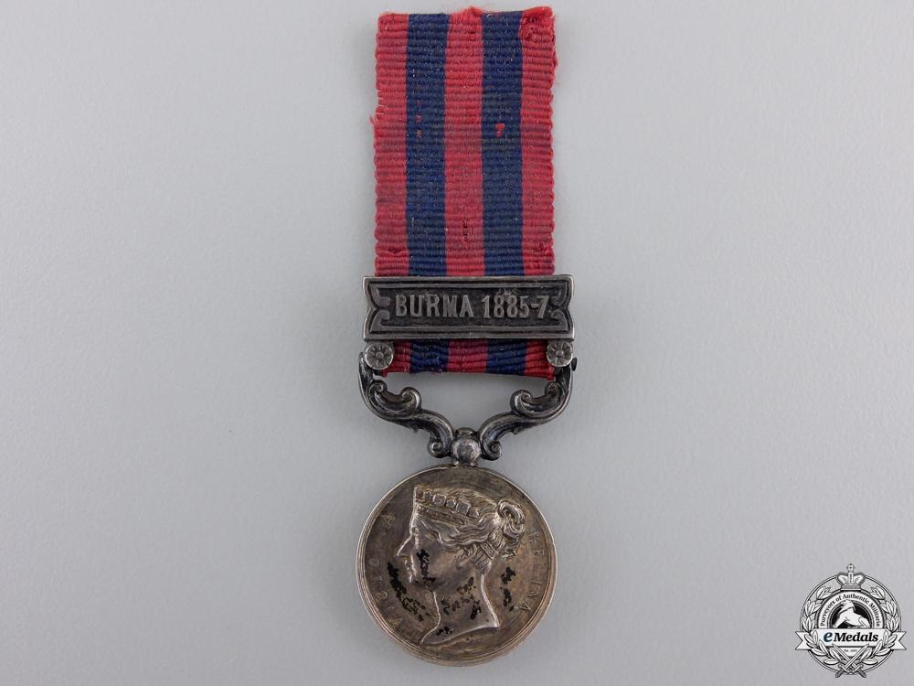 eMedals-Great Britain. A Miniature India General Service Medal 1854-1895