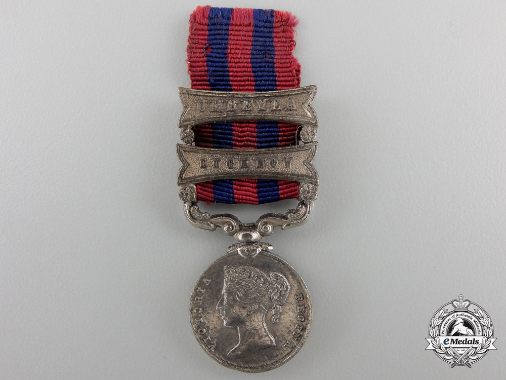 eMedals-A Miniature India General Service Medal 1854-1895