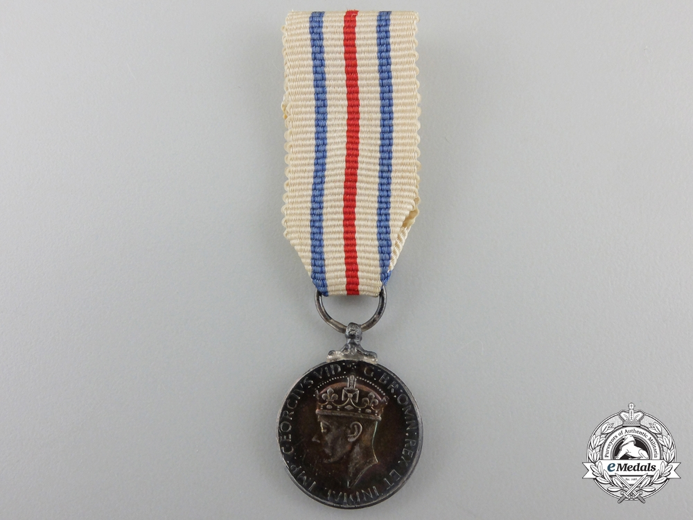 eMedals-A Miniature King's Medal for Service in the Cause of Freedom